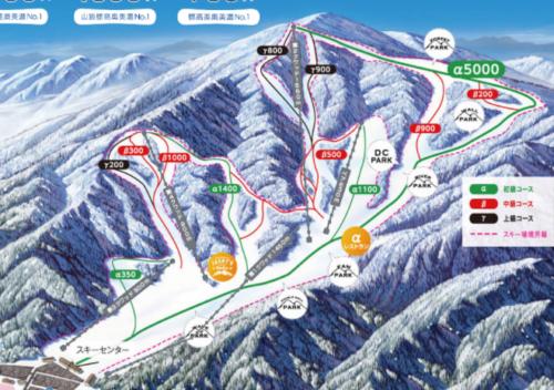めいほうスキー場 ゲレンデ情報2