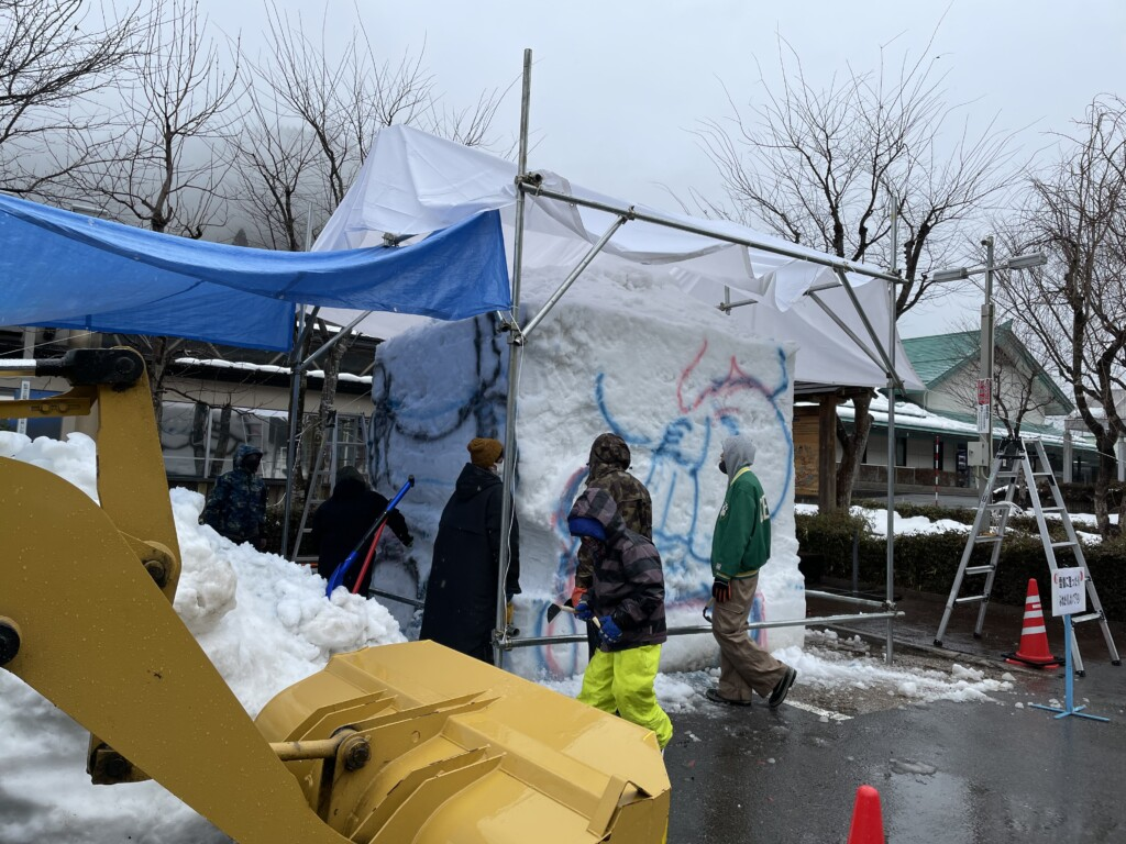 道の駅 やまと 雪像 雪まつり