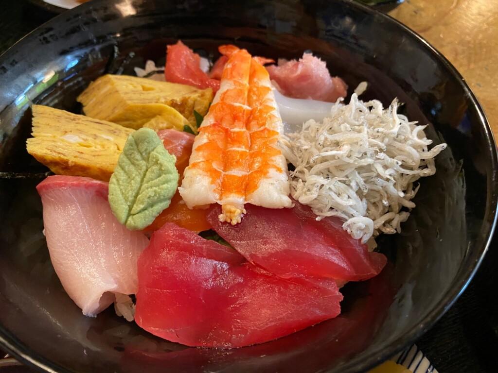 高鷲 一ふじ 和食 定食 奥美濃 ご当地グルメ 海鮮丼
