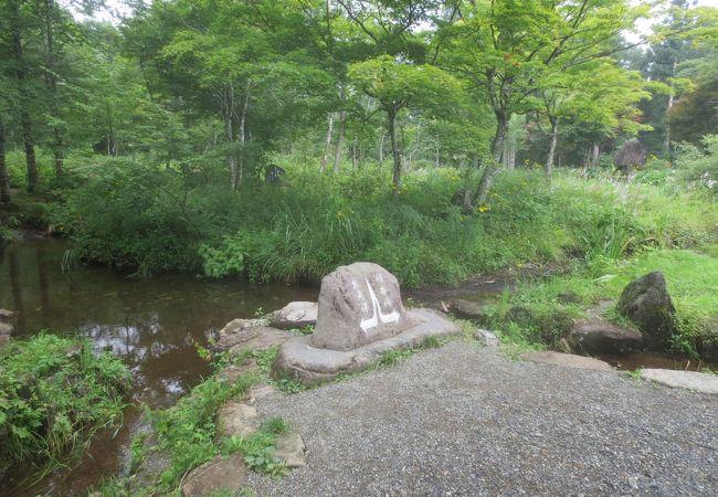 奥美濃 ひるがの 分水嶺公園