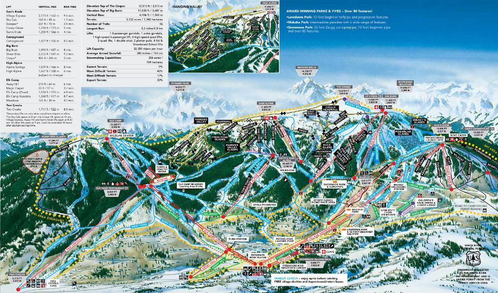 スキー場 コロラド アスペン aspen 海外