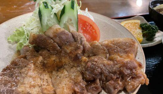 白鳥『レストラン日高』ランチやディナーはボリューム満点な定食