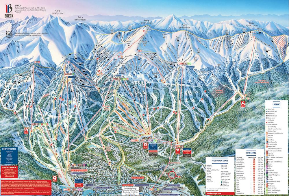コロラド スキー場 ブレッケンリッジbreckenridge 海外で人気