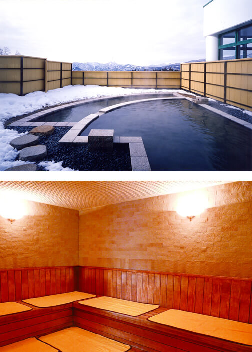 奥美濃 鷲ヶ岳スキー場 温泉 鷲の湯 お風呂
