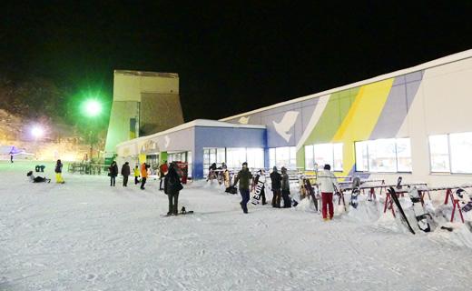 奥美濃 鷲ヶ岳スキー場 高鷲 スノーボード オールナイト