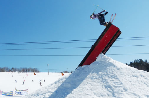 奥美濃 鷲ヶ岳スキー場 パーク ゲレンデ